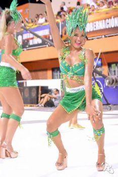 Melissa Noguera, reina del carnaval