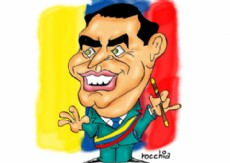Sobraron las pruebas de que el 30 de septiembre de 2010, los miembros de las fuerzas policiales intentaron matar a Rafael Correa. (Dibujo: NOVA)